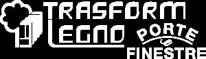 Logo Trasformlegno bianco